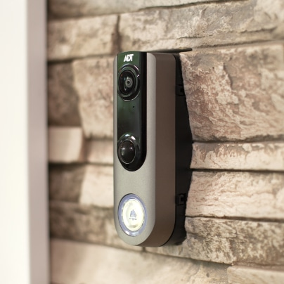 Flint doorbell security camera
